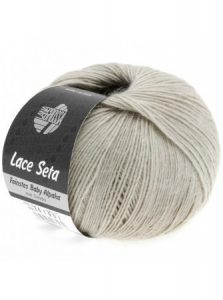 Lace Seta Baby Alpaca Lana Grossa