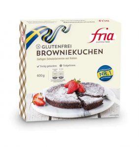 Browniekuchen glutenfrei fria
