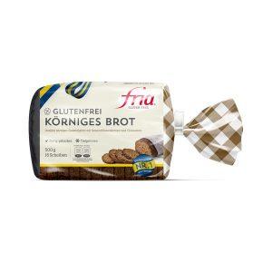 Körniges Brot glutenfrei von fria