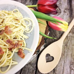 Spaghetti Carbonara glutenfrei