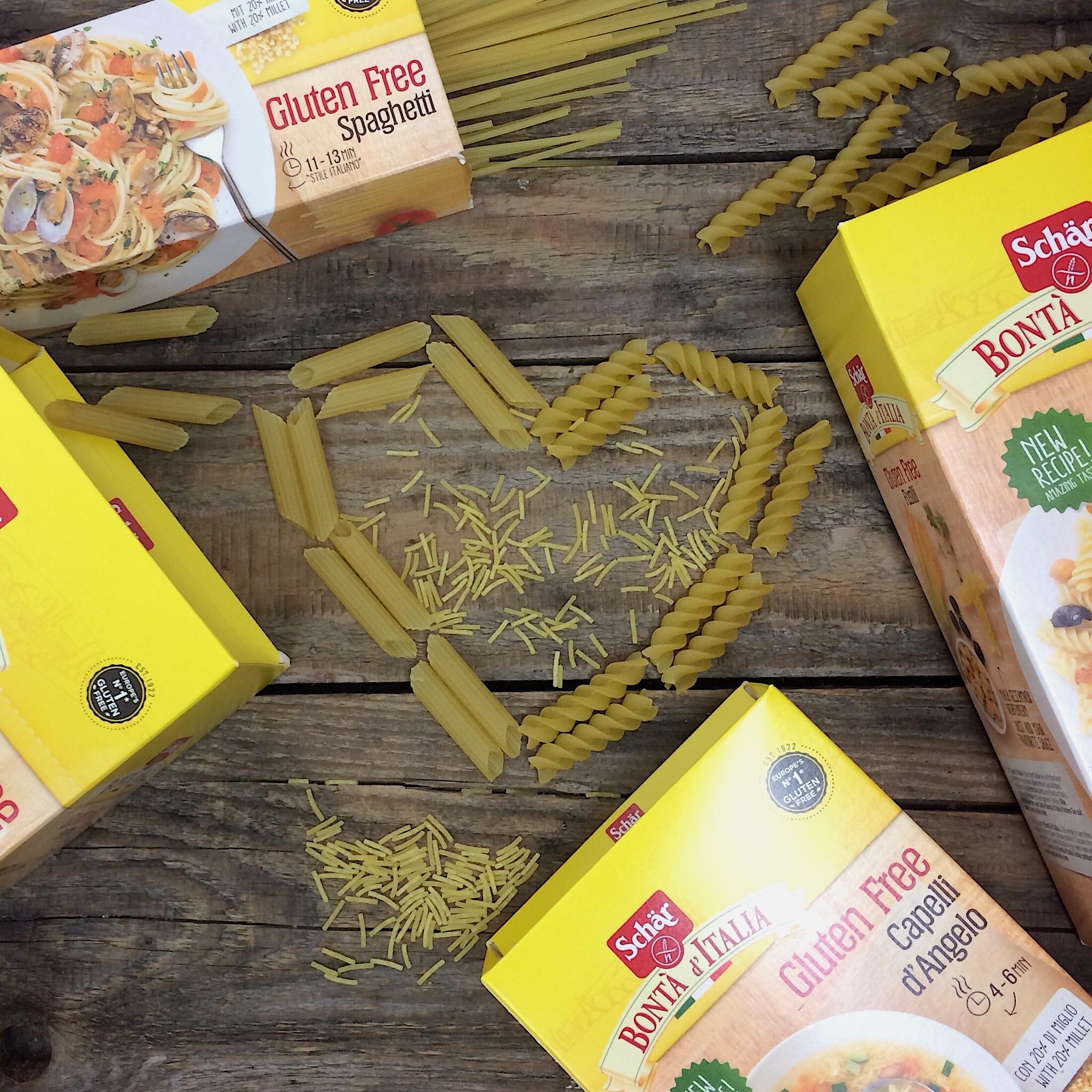 Schär Pasta neue Rezeptur mit Hirse glutenfrei