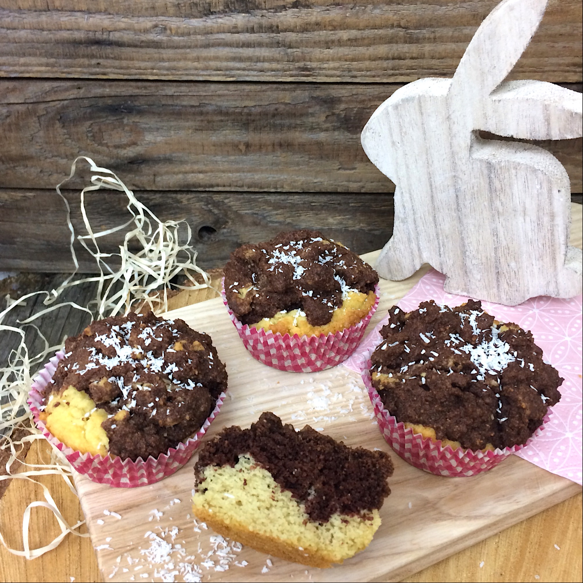 Kokos Muffinfs glutenfrei