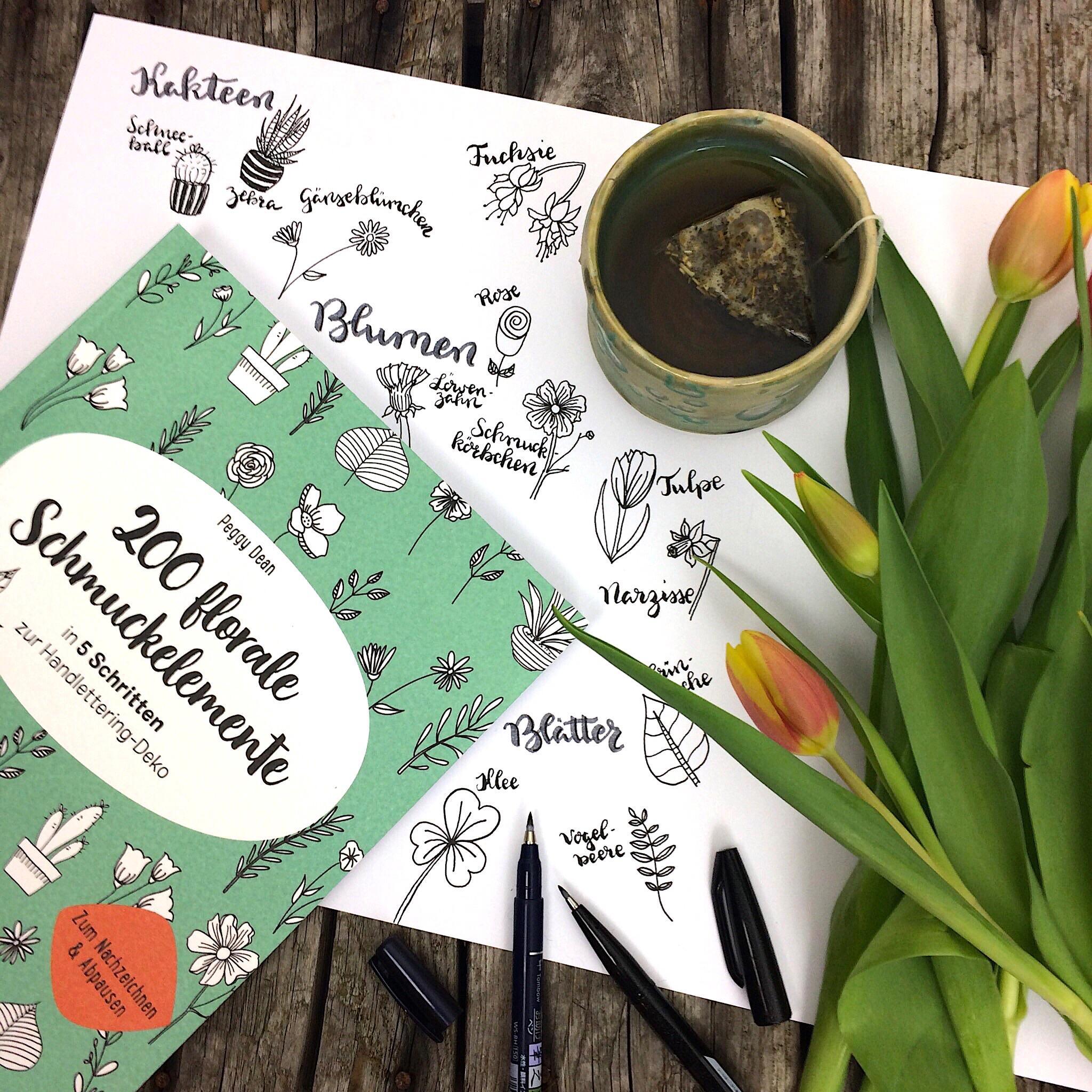 200 florale Schmuckelemente EMF Verlag