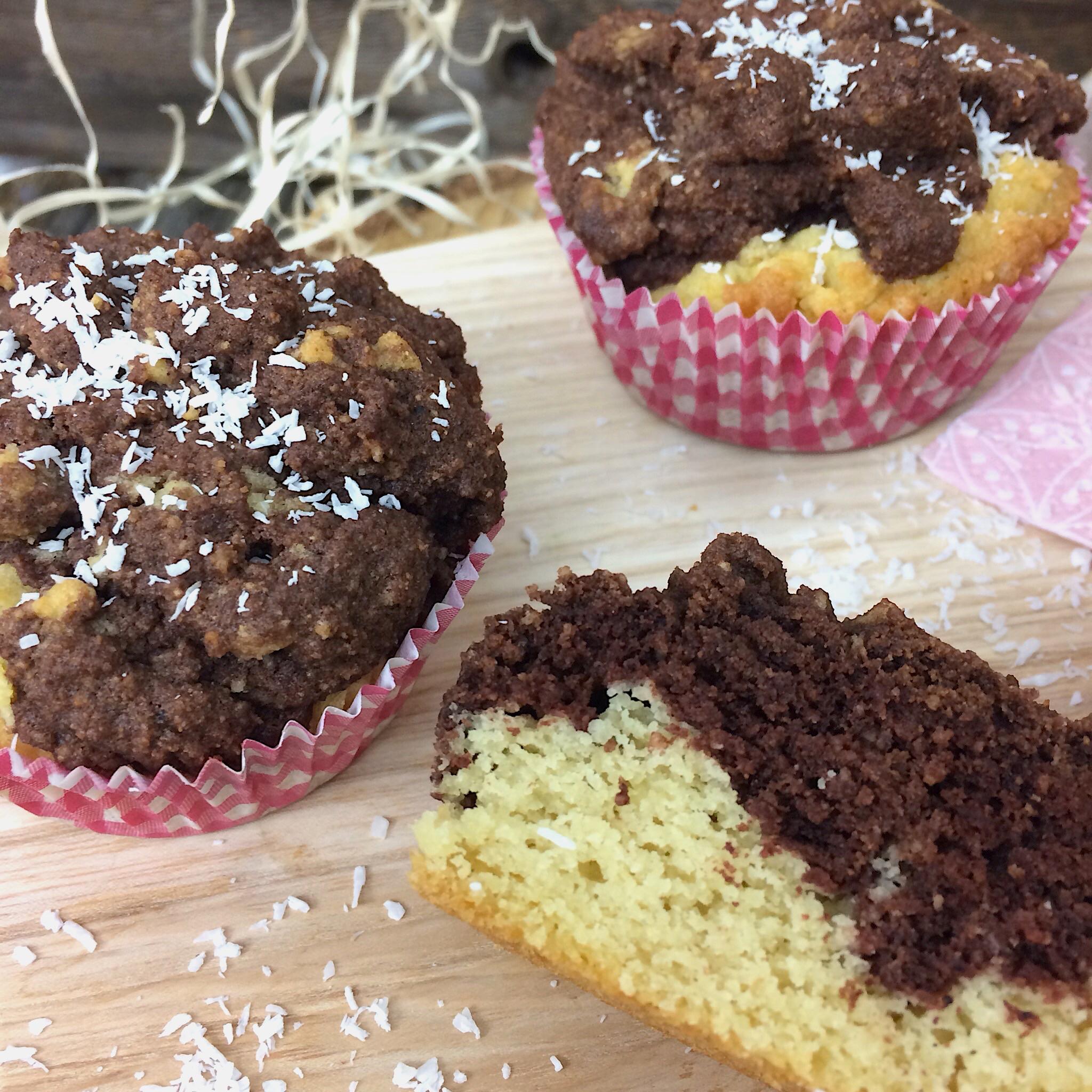 Kokos-Muffins glutenfrei
