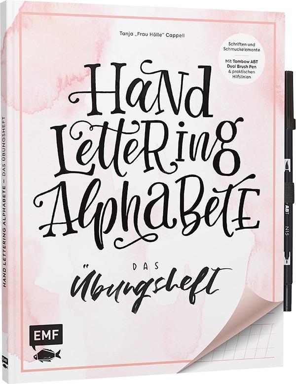 Übungsheft Handlettering Alphabete