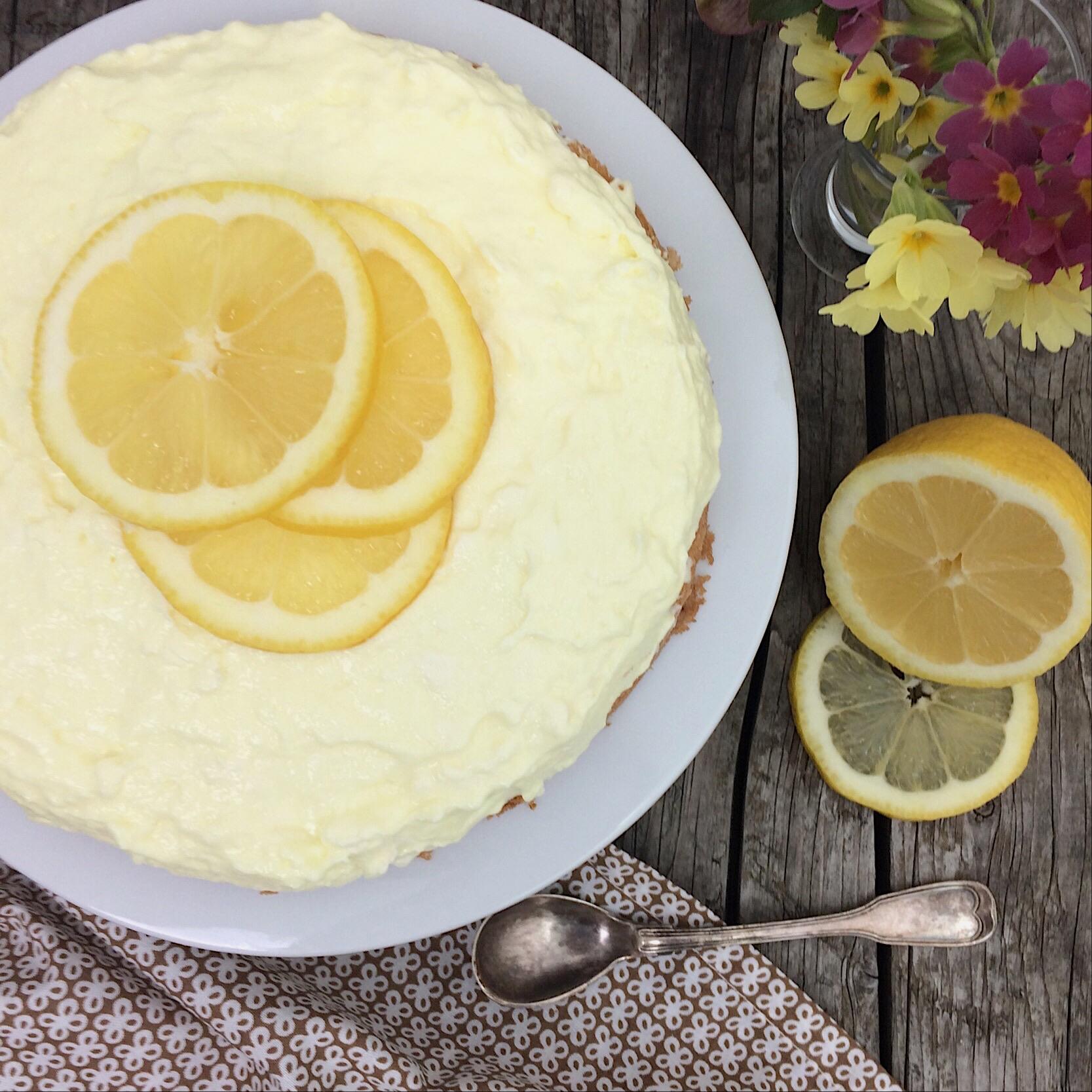Zitronen Torte Rezept glutenfrei Komeko