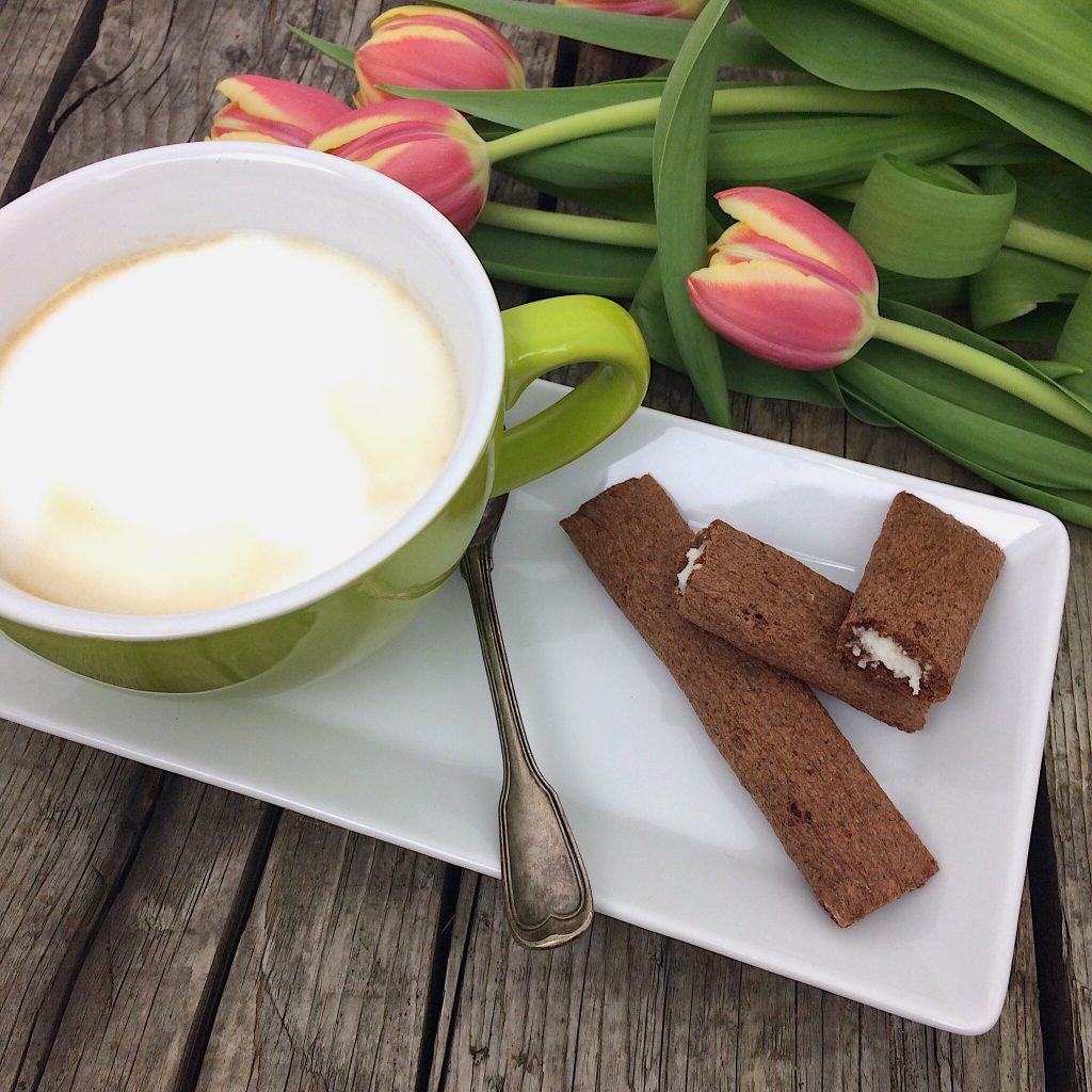 Crousty Roll Kakao Kokos Blumenbrot glutenfrei
