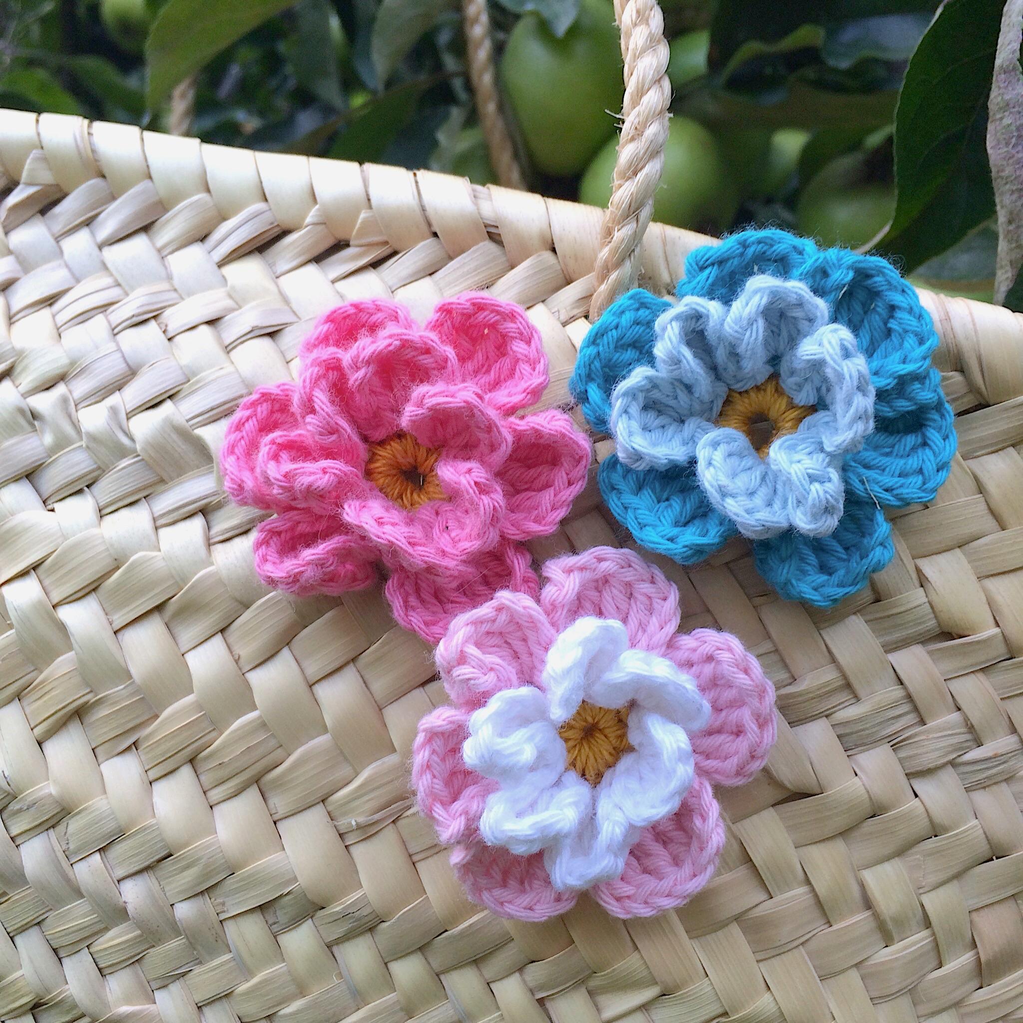 Blumen kostenlos häkeln Häkelanleitungen