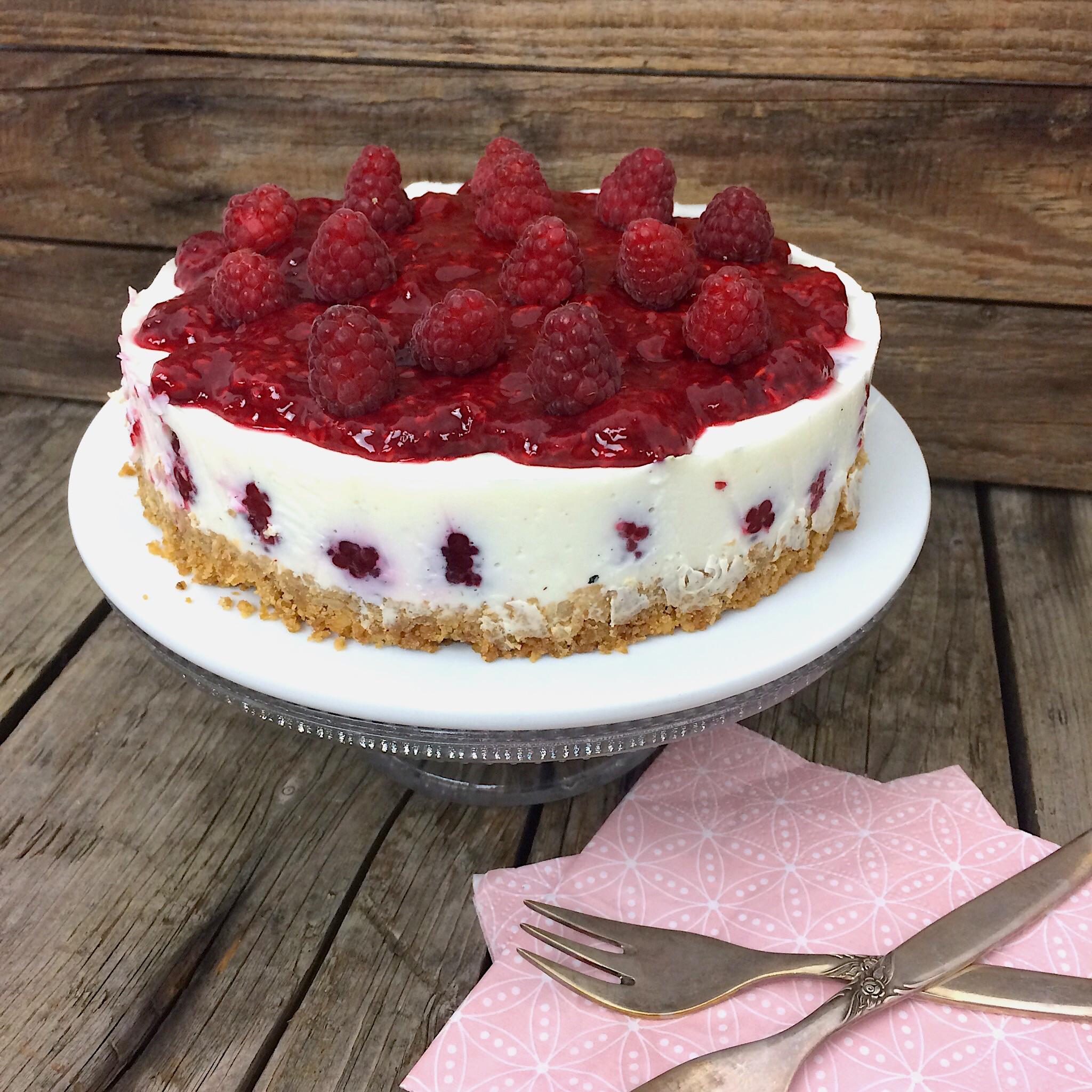 Himbeer Kuchen glutenfrei