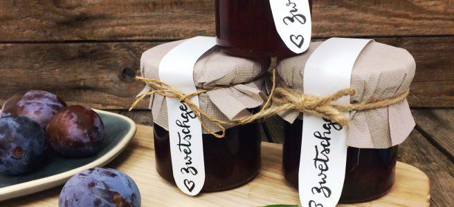 Zwetschgen Marmelade Rezept
