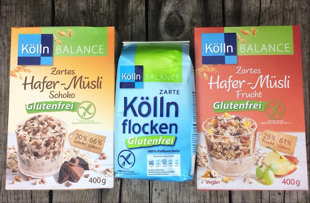 Köln glutenfrei Haferflocken