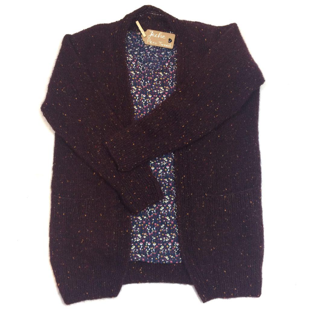 Jacke Peru Tweed Lana GROSSA stricken