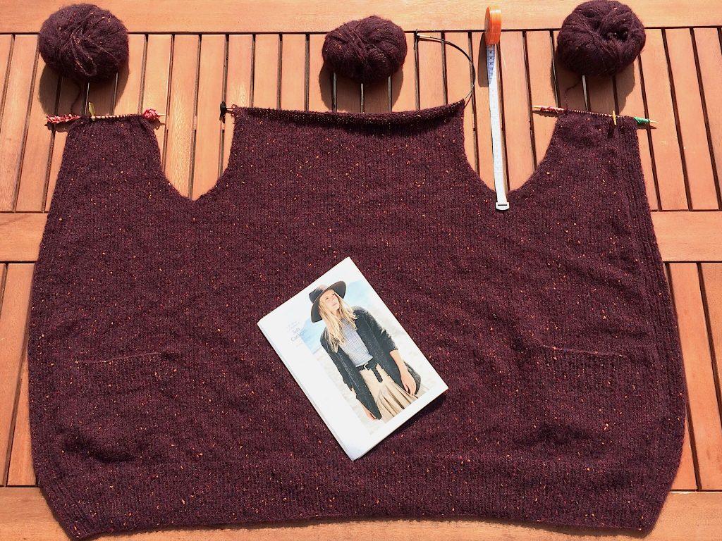 Jacke Peru Tweed Lana GROSSA Strickanleitung