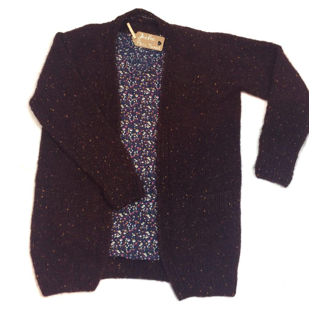 Jacke Peru Tweed Lanagrossa Stricken