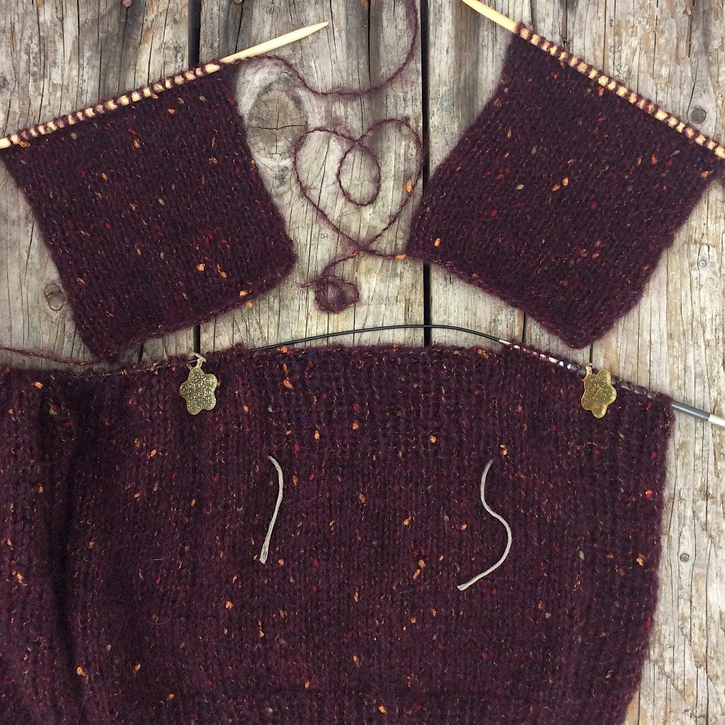 Jacke Peru Tweed Lana GROSSA Wolle Peru Tweed