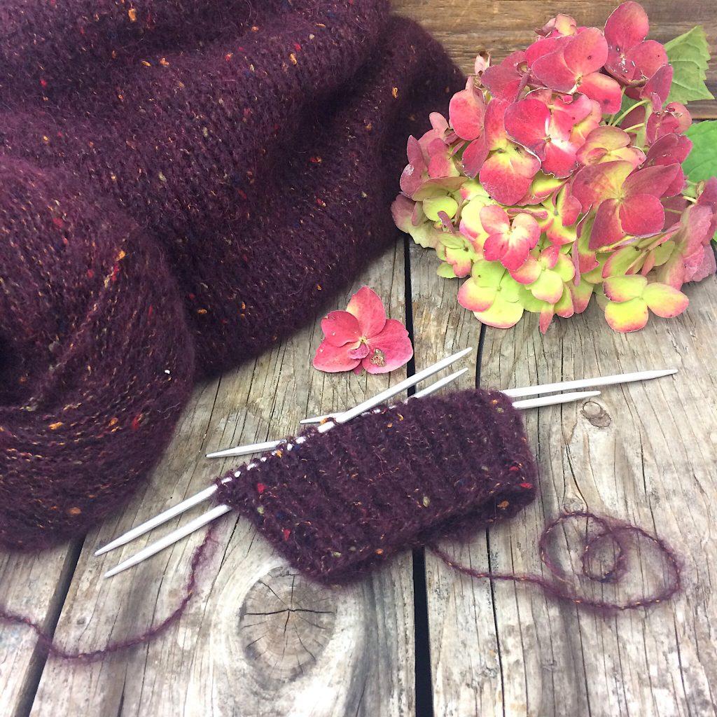 Jacke Peru Tweed von Lana GROSSA Strickanleitung