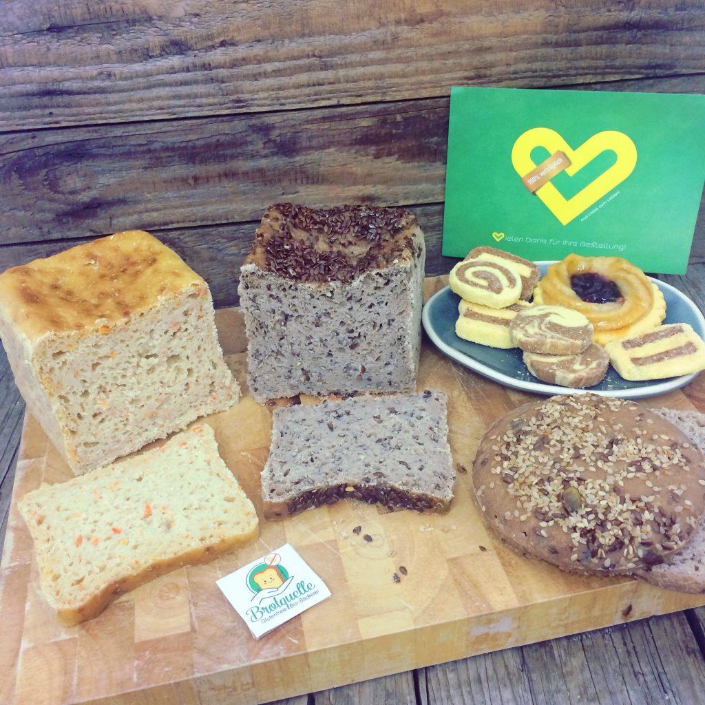 Shop unverträglich Biobäckerei Brotquelle glutenfrei