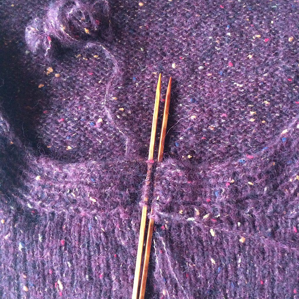 Jacke Peru Tweed Lana Grossa