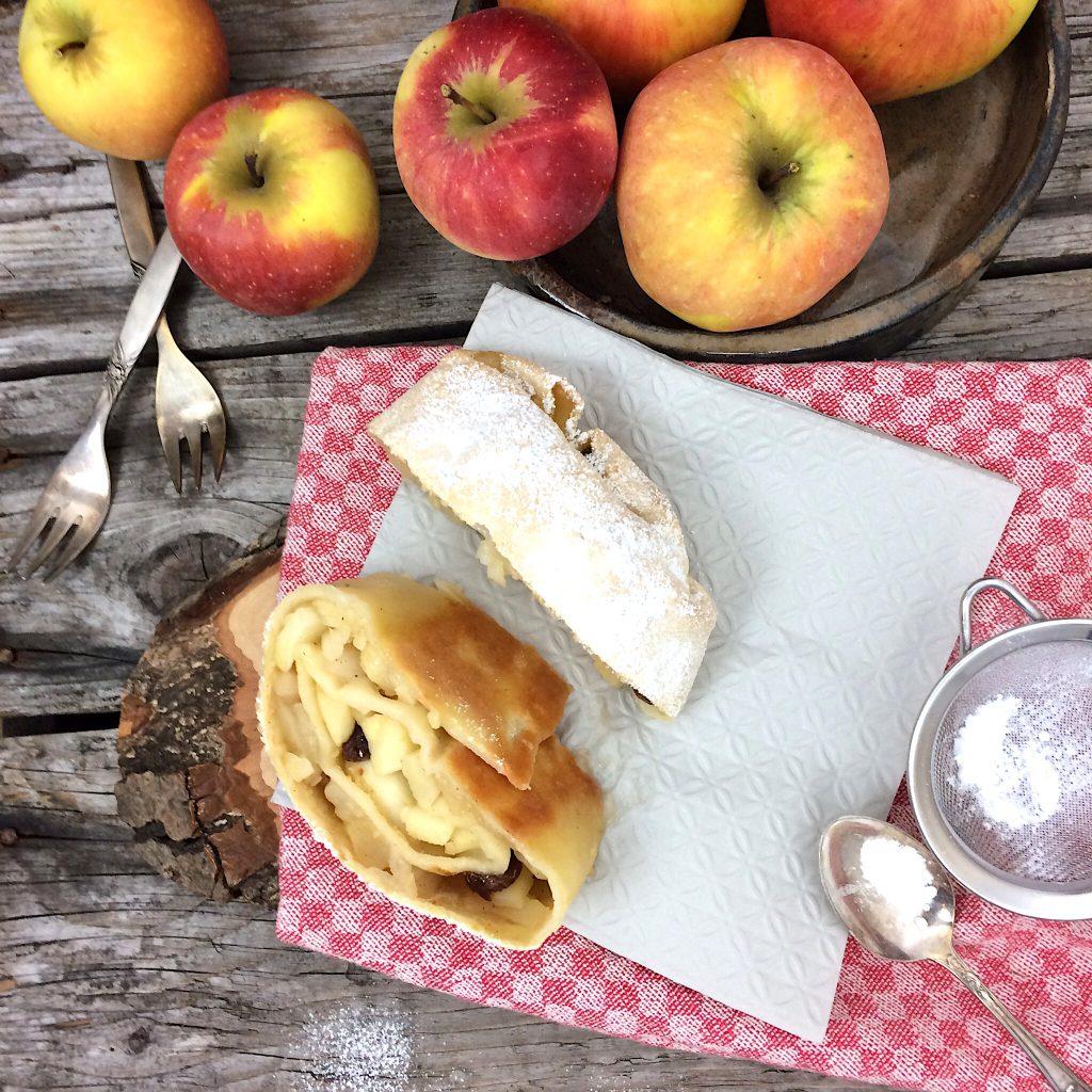 Apfelstrudel glutenfrei Rezept