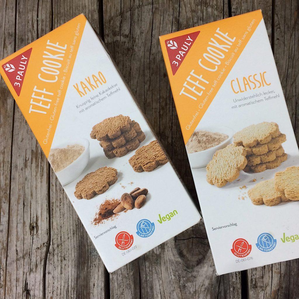 Kekse 3PAULY Teff Cookie glutenfrei