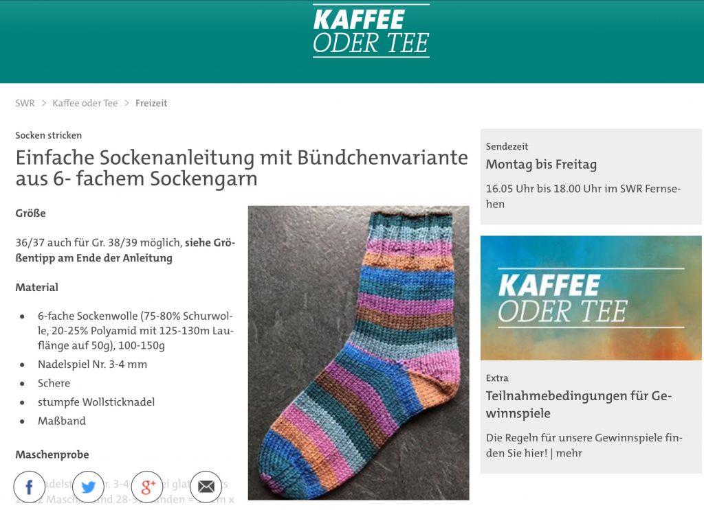 Dicke Socken stricken Tanja Steinbach Lana Grossa