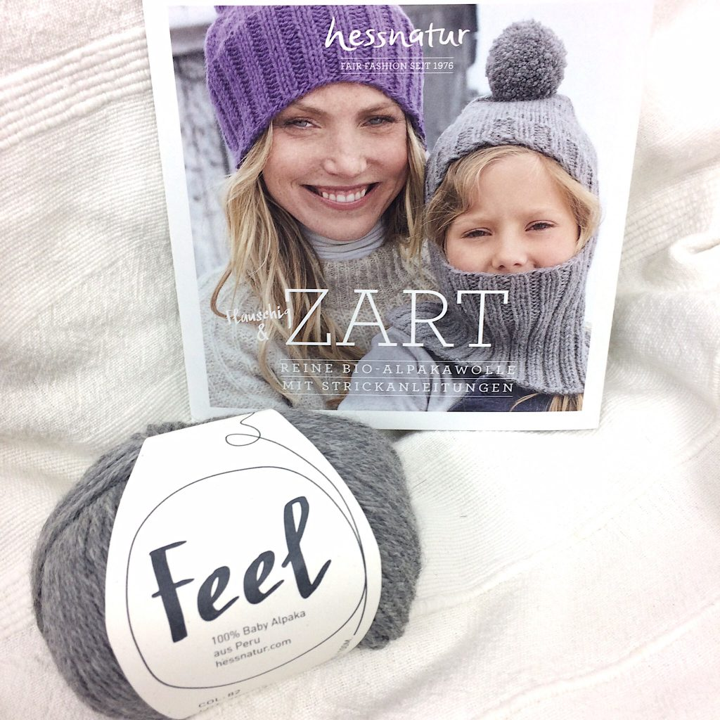 Hessnatur Strickset Bio Baby Alpaka Feel