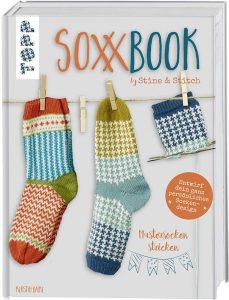 Socken stricken Soxx Book Jacquardmuster