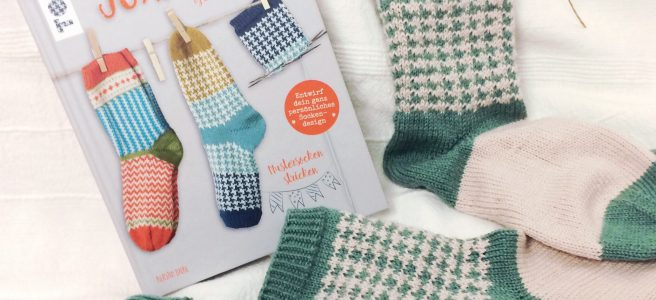 Soxx Book Socken Stricken Jacquardmuster