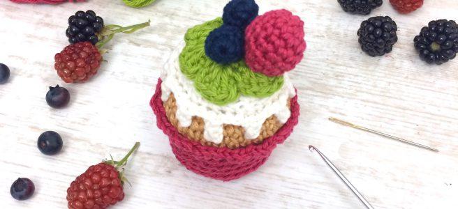 Cupcake häkeln Gratisanleitung
