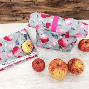 Lunchbag nähen Gratisanleitung Met fabrics Tutti frutti collection