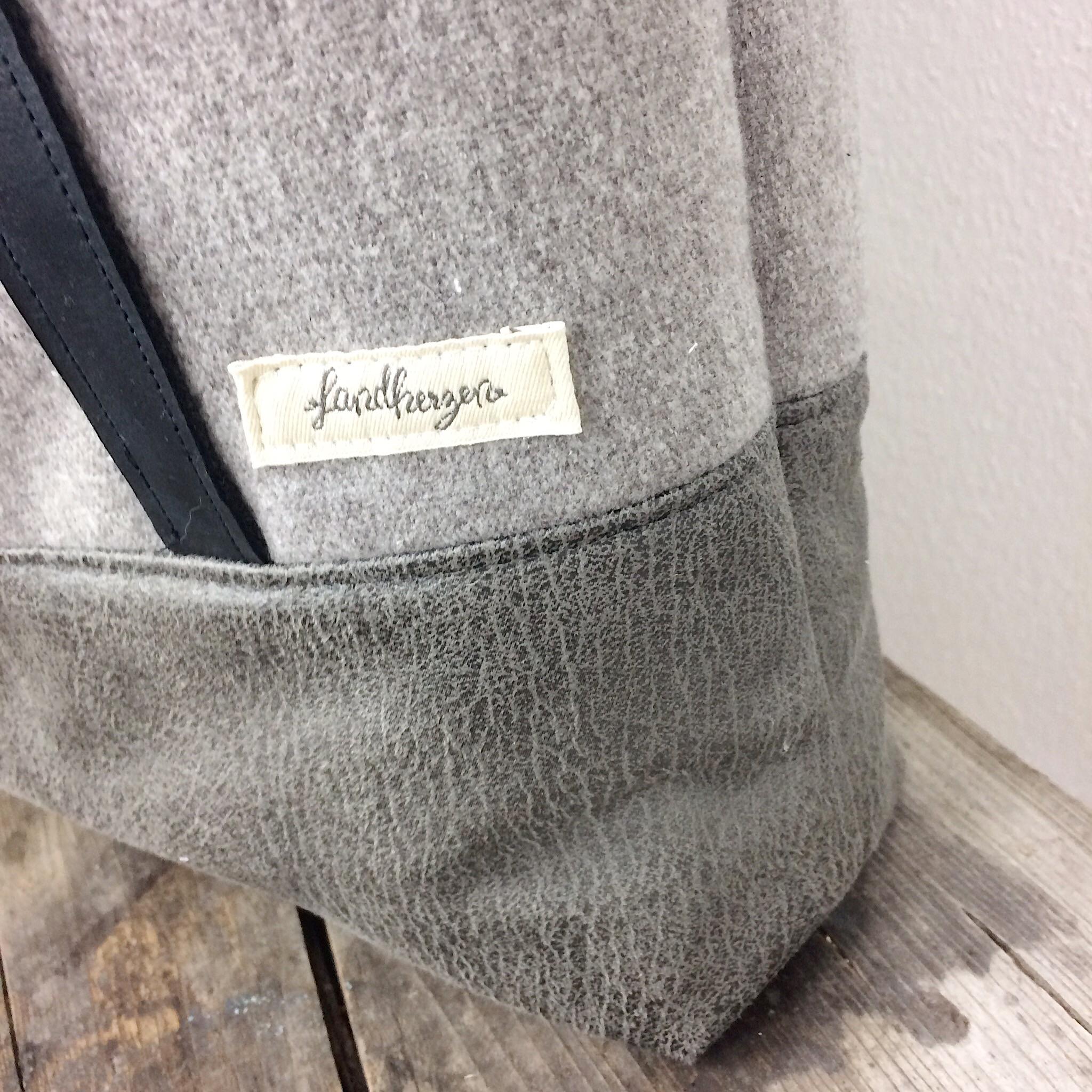 Shopper Herbi Bag nähen oh meela Freebook