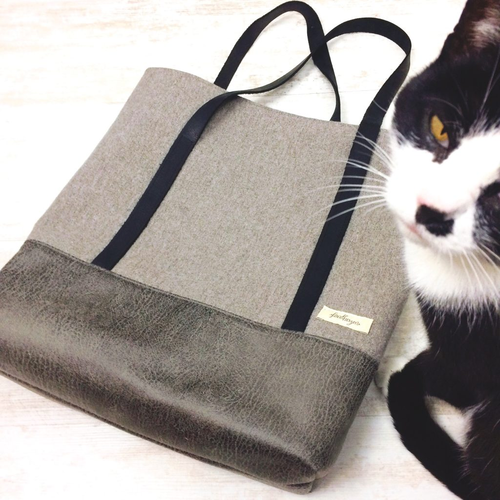 Herbi Bag oh meela Freebook nähen Shopper