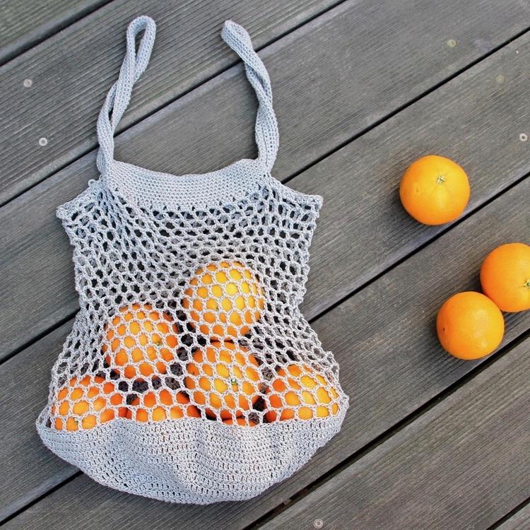 #noplasticbag Häkeltasche
