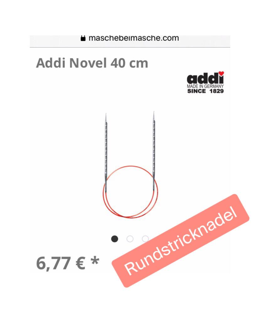 Addi Rundstricknadel